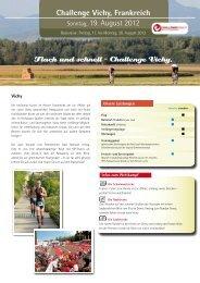 Flach und schnell – Challenge Vichy. - Hannes Hawaii Tours