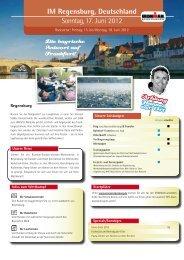 Reiseangebot - Ironman Regensburg