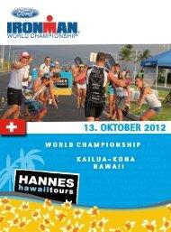 Schweiz - Hannes Hawaii Tours
