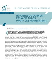 FRANCOIS FILLON PARTI « LES RÉPUBLICAINS » maintenir patrimoine