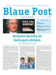 Blaue Post Nr. 8 April 2017