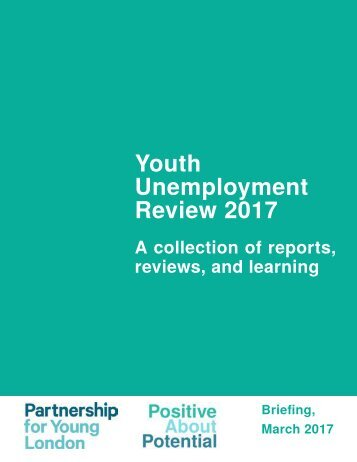 Youth Unemployment Review 2017