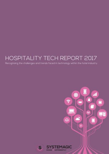 HOSPITALITY TECH REPORT 2017
