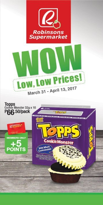 ROBINSONS SUPERMARKET CATALOG expires April 13, 2017