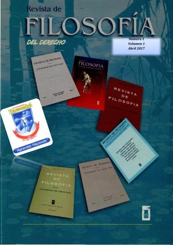 Revista filosofia del derecho