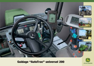 "Guidage ""AutoTrac"" universel 200"