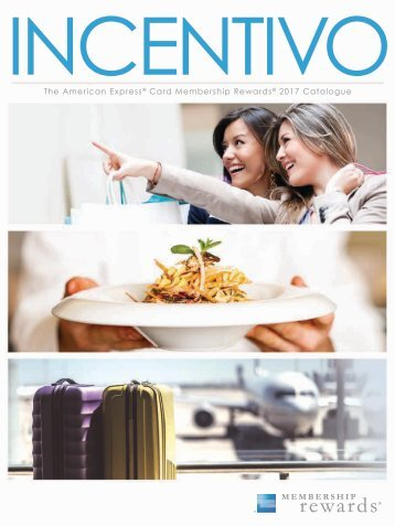 American Express Incentivo 2017 Catalog