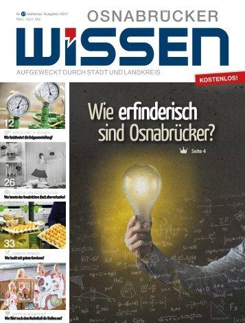 Nr. 17 (I-2017) - Osnabrücker Wissen