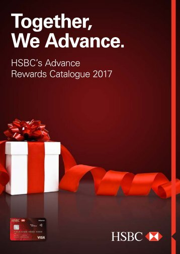 HSBC ADVANCE REWARDS CATALOG 2017