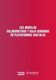 COLABORATIVOS Y BAJO DEMANDA EN PLATAFORMAS DIGITALES