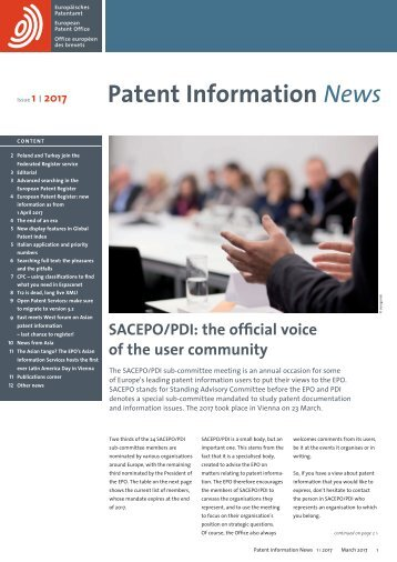 Patent Information News