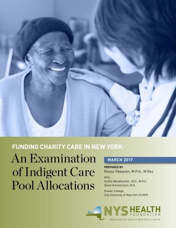 of Indigent Care Pool Allocations