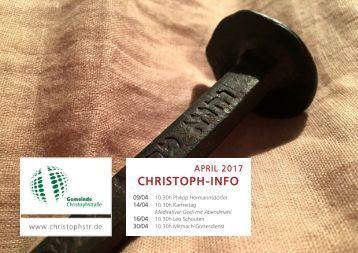 Gemeindebrief April 2017