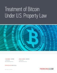 Treatment of Bitcoin Under U.S Property Law