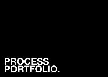 Process Portfolio - Y1S2