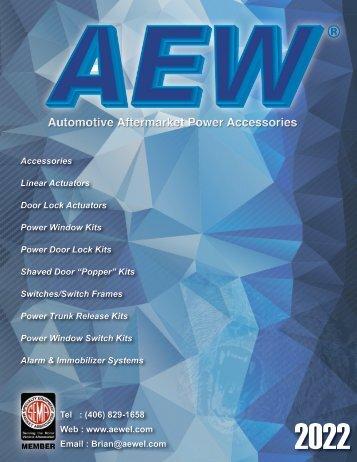 AEW Catalog 2018