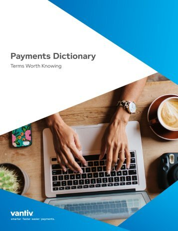 Payments Dictionary