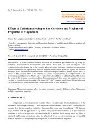 Effects of Cadmium alloying on the Corrosion and Mechanical ...