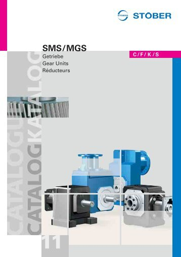 Katalog SMS/MGS Getriebe