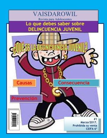 Revista delincuencia juvenil