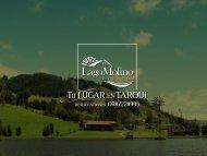 Catálogo Lago Molino Eventos