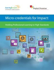 Micro-credentials for Impact