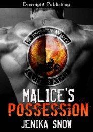 1 - Malice Possession - Jenika Snow