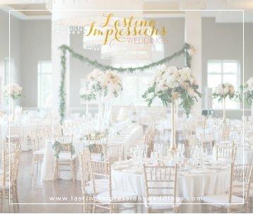Lasting Impressions Weddings Portfolio