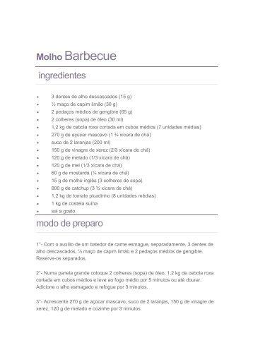 Molho Barbecue2