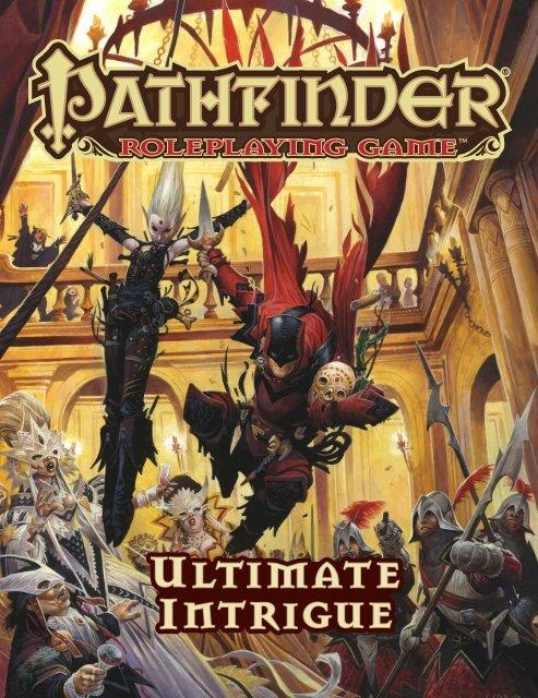 Intrigue pdf ultimate pathfinder
