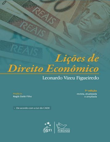 lições de direito econconômico leonardo vizeu figueiredo ed forense 2014