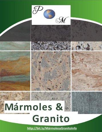 Catálogo de Mármoles y Granito