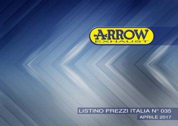 Arrow Listino prezzi Italia n 035 Aprile 2017