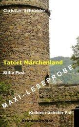 Maxi-Leseprobe: Tatort Märchenland - Stille Post