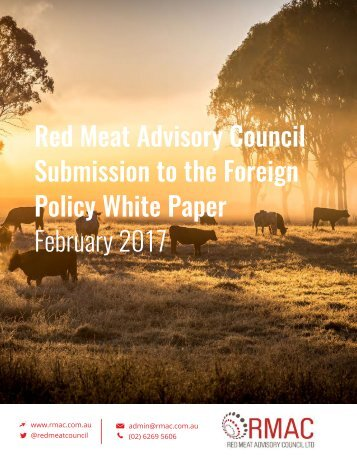 Submission to the Foreign Policy White Paper February 2017