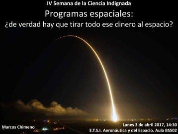Programas espaciales