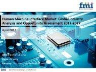 Human Machine Interface Market size and forecast, 2017-2027