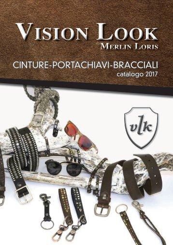 Catalogo cinture e bracciali Vision Look