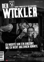 Der Wickler 1. Ausgabe 2017