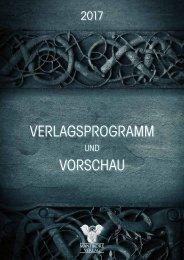 VERLAGSPROGRAMM VORSCHAU