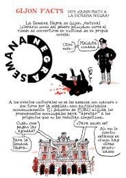 Gijón Facts: La Semana Negra es la punta del iceberg