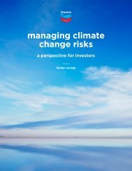 managing climate change risks