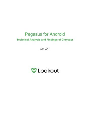 Pegasus for Android