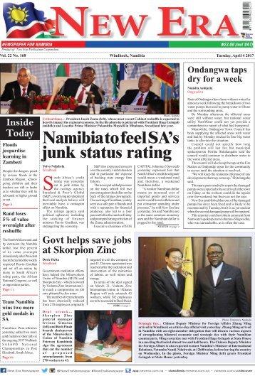 New Era Newspaper Vol22 No168