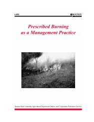 Prescribed Burning as a Management Practice - eXtension Online ...