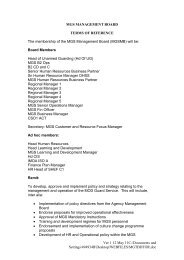 MGS Management Board Terms of Reference