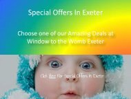 Special Offers In Exeter