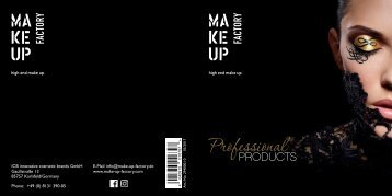 Make Up Factory - Professional Products