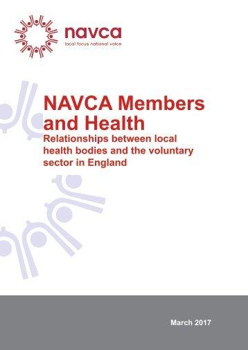 NAVCA Members and Health