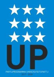 UP-partijprogramma